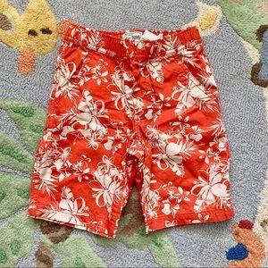 BNWT 🌺Hawaiian shorts with inside waist adjusters